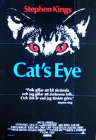Cat's Eye - Swedish Movie Poster (xs thumbnail)