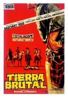 Tierra brutal - Spanish Movie Poster (xs thumbnail)