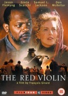 The Red Violin - British DVD cover (xs thumbnail)