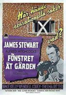 Rear Window - Swedish Movie Poster (xs thumbnail)