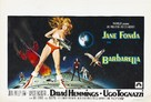 Barbarella - Belgian Movie Poster (xs thumbnail)