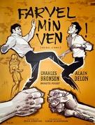 Adieu l'ami - Danish Movie Poster (xs thumbnail)