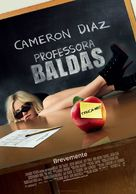 Bad Teacher - Portuguese Movie Poster (xs thumbnail)
