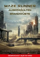 Maze Runner: The Scorch Trials - German Movie Poster (xs thumbnail)