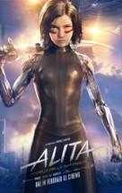Alita: Battle Angel - Italian Movie Poster (xs thumbnail)