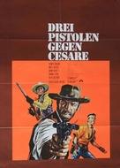 3 pistole contro Cesare - German Movie Poster (xs thumbnail)