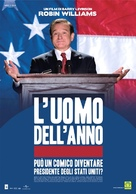 Man of the Year - Italian poster (xs thumbnail)