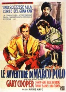 The Adventures of Marco Polo - Italian Movie Poster (xs thumbnail)