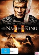 In the Name of the King: Two Worlds - Australian DVD cover (xs thumbnail)