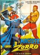 Zorro contro Maciste - French poster (xs thumbnail)