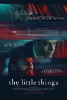 The Little Things - British Movie Poster (xs thumbnail)