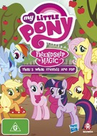 """My Little Pony: Friendship Is Magic"" - Australian DVD cover (xs thumbnail)"