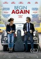 Begin Again - Dutch Movie Poster (xs thumbnail)