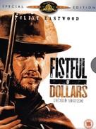 Per un pugno di dollari - British DVD movie cover (xs thumbnail)