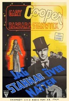 Ball of Fire - Swedish Movie Poster (xs thumbnail)