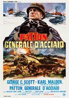 Patton - Italian Movie Poster (xs thumbnail)