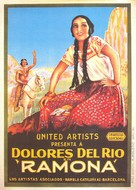 Ramona - Spanish Movie Poster (xs thumbnail)