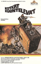 Where Eagles Dare - Finnish VHS movie cover (xs thumbnail)