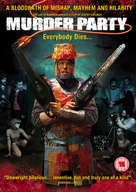 Murder Party - British Movie Cover (xs thumbnail)