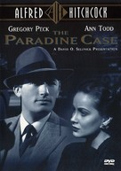 The Paradine Case - DVD movie cover (xs thumbnail)