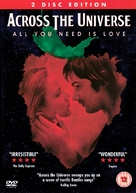 Across the Universe - British DVD cover (xs thumbnail)