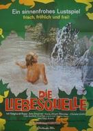 Liebesquelle, Die - German Movie Poster (xs thumbnail)
