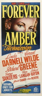 Forever Amber - Australian Movie Poster (xs thumbnail)