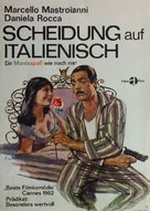 Divorzio all'italiana - German Movie Poster (xs thumbnail)
