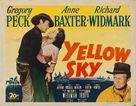Yellow Sky - Movie Poster (xs thumbnail)