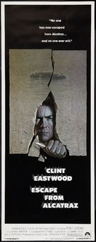 Escape From Alcatraz - Movie Poster (xs thumbnail)