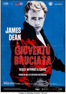 Rebel Without a Cause - Italian Re-release movie poster (xs thumbnail)