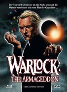 Warlock: The Armageddon - Austrian Blu-Ray cover (xs thumbnail)