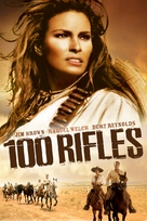 100 Rifles - DVD cover (xs thumbnail)