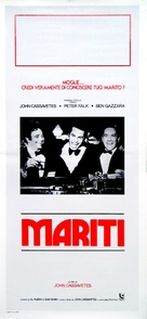 Husbands - Italian Movie Poster (xs thumbnail)