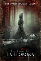 The Curse of La Llorona - Dutch Movie Poster (xs thumbnail)