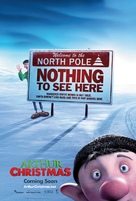 Arthur Christmas - British Movie Poster (xs thumbnail)