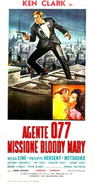 Agente 077 missione Bloody Mary - Italian Movie Poster (xs thumbnail)