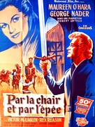 Lady Godiva of Coventry - French Movie Poster (xs thumbnail)