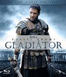 Gladiator - Hungarian Blu-Ray cover (xs thumbnail)