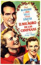 The Miracle of the Bells - Spanish Movie Poster (xs thumbnail)