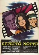 La nuit américaine - Italian Movie Poster (xs thumbnail)