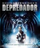 Predator - Spanish Blu-Ray movie cover (xs thumbnail)