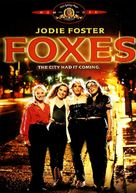 Foxes - DVD cover (xs thumbnail)