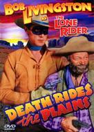 Death Rides the Plains - DVD cover (xs thumbnail)
