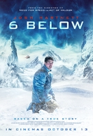 6 Below: Miracle on the Mountain - British Movie Poster (xs thumbnail)