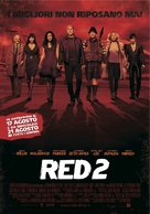 RED 2 - Italian Movie Poster (xs thumbnail)