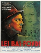 Bas-fonds, Les - French Movie Poster (xs thumbnail)