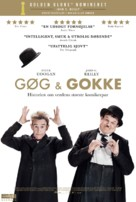 Stan & Ollie - Danish Movie Poster (xs thumbnail)