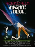 Ginger e Fred - French Movie Poster (xs thumbnail)