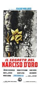 Das Geheimnis der gelben Narzissen - Italian Movie Poster (xs thumbnail)